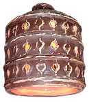 Lustre Cloche Antique